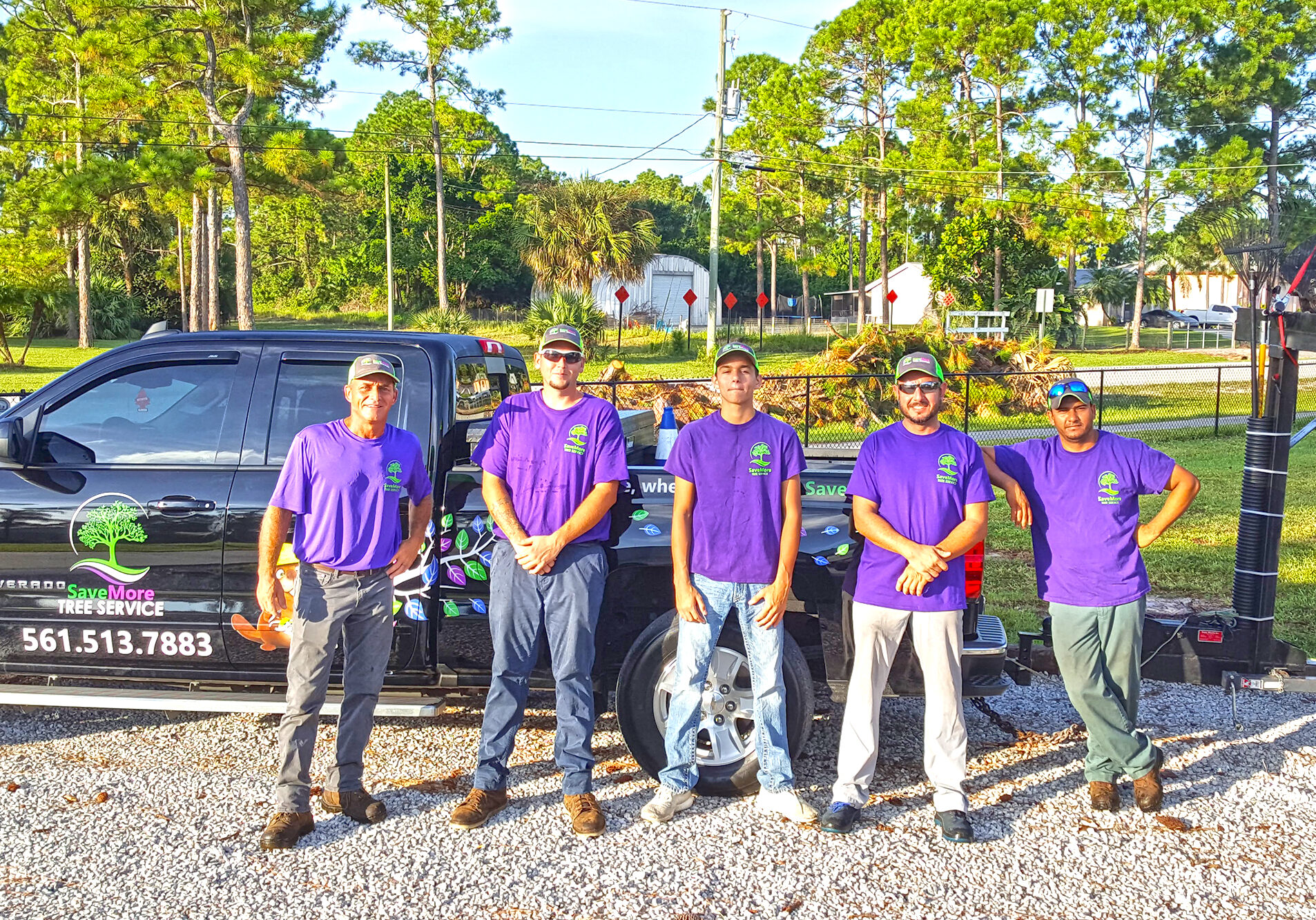 SaveMore Tree Service Team